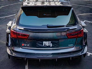 RS6 carbon fiber body kit