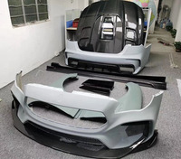 Half-carbon fiber body kit